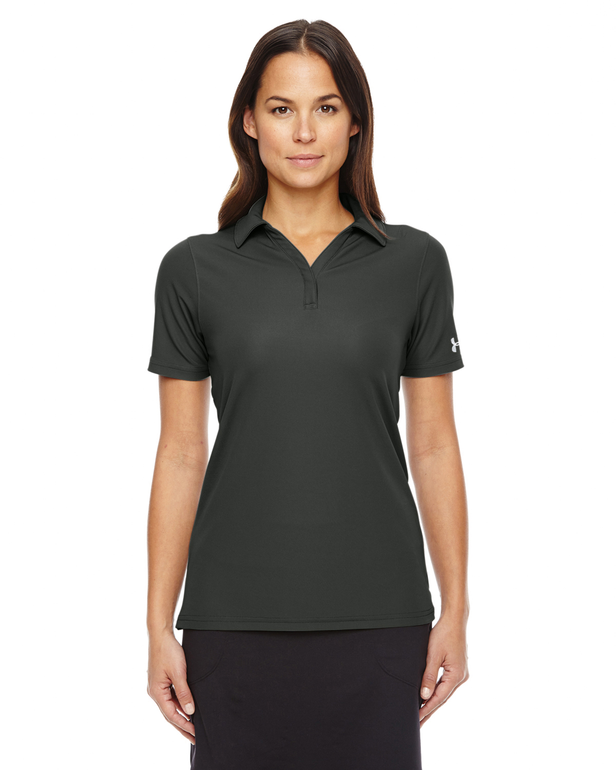 Under armour ladies performance polo 1261606 for Under armour embroidered polo shirts