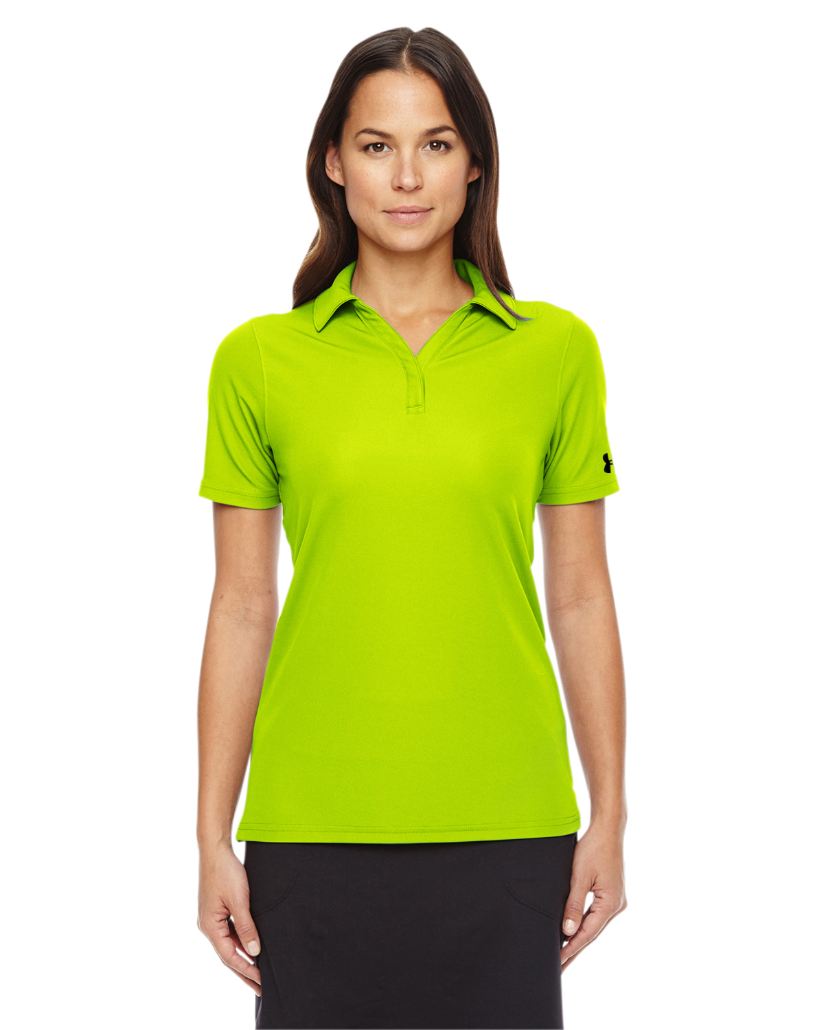 780b4fde Under Armour Ladies Performance Polo. 1261606. Under Armour High-Vis  Yellow; Under ...