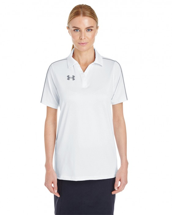 Under armour ladies custom tech polo 1309537 for Under armour embroidered polo shirts