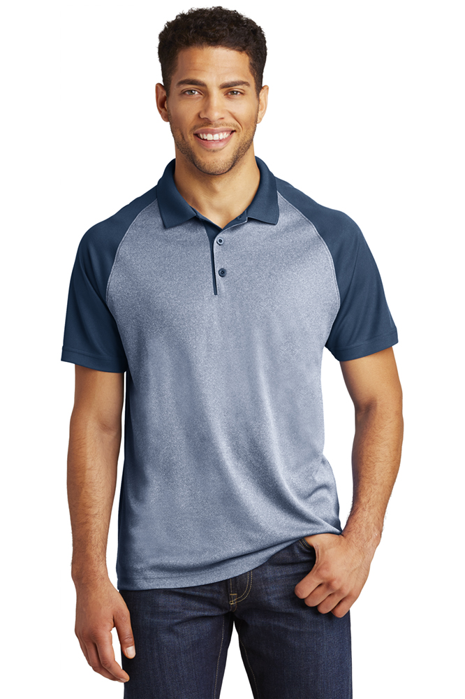 Sport Tek True Navy Heather/True Navy