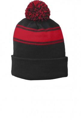 Sport Tek Black/True Red